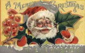 hol000306 - Santa Claus Postcard Post Cards