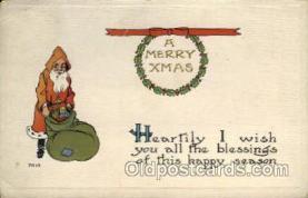 hol000310 - Santa Claus Postcard Post Cards