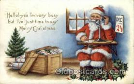 hol000312 - Santa Claus Postcard Post Cards