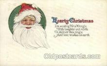hol000315 - Publisher Whitney Santa Claus Postcard Post Cards