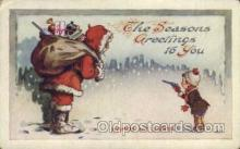hol000316 - Santa Claus Postcard Post Cards