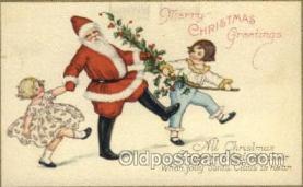 hol000319 - Santa Claus Postcard Post Cards
