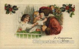 hol000320 - Artist Schmucker Santa Claus Postcard Post Cards