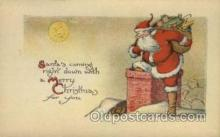hol000321 - Santa Claus Postcard Post Cards