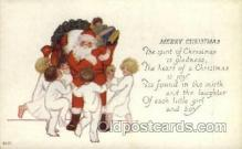 hol000322 - Santa Claus Postcard Post Cards