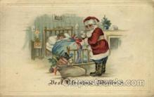 hol000323 - Santa Claus Postcard Post Cards