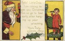 hol000325 - Santa Claus Postcard Post Cards