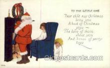 hol000328 - Santa Claus Postcard Post Cards