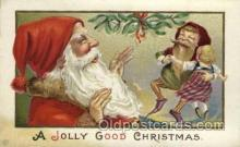 hol000333 - Santa Claus Postcard Post Cards