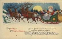 hol000334 - Santa Claus Postcard Post Cards