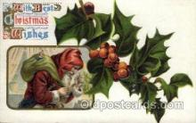 hol000338 - Santa Claus Postcard Post Cards