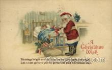 hol000340 - Santa Claus Postcard Post Cards