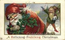 hol000341 - Santa Claus Postcard Post Cards