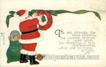 hol000342 - Santa Claus Postcard Post Cards