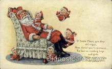 hol000344 - Publisher Whitney Santa Claus Postcard Post Cards