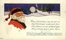 hol000347 - Santa Claus Postcards Post Card