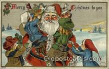 hol000348 - Santa Claus Postcards Post Card