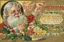 hol000349 - Santa Claus Postcards Post Card