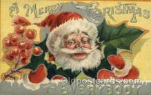hol000350 - Santa Claus Postcards Post Card