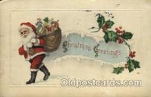 hol000351 - Santa Claus Postcards Post Card