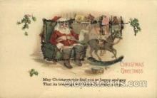 hol000352 - Santa Claus Postcards Post Card