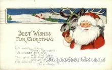hol000357 - Santa Claus Postcards Post Card