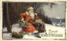hol000359 - Santa Claus Postcards Post Card