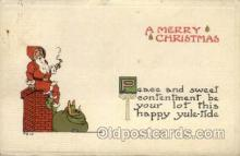 hol000364 - Santa Claus Postcards Post Card