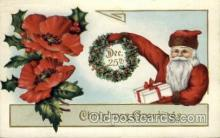 hol000368 - Santa Claus Postcards Post Card
