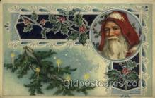 hol000371 - Santa Claus Postcards Post Card