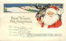 hol000372 - Santa Claus Postcards Post Card