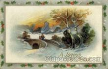 hol000373 - Santa Claus Postcards Post Card