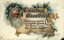 hol000375 - Santa Claus Postcards Post Card