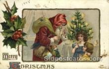 hol000377 - Santa Claus Postcards Post Card