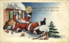 hol000378 - Santa Claus Postcards Post Card