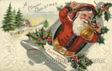 hol000379 - Santa Claus Postcards Post Card