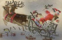 hol000380 - Santa Claus Postcards Post Card