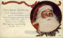 hol000381 - Santa Claus Postcards Post Card