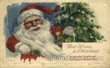 hol000382 - Santa Claus Postcards Post Card