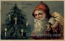 hol000383 - Publisher PBF Santa Claus Postcards Post Card