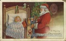 hol000384 - Santa Claus Postcards Post Card