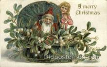 hol000386 - Santa Claus Postcards Post Card