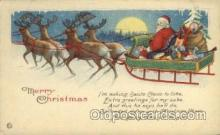 hol000388 - Santa Claus Postcards Post Card