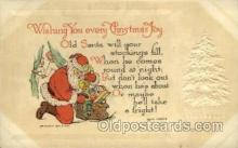 hol000389 - Santa Claus Postcards Post Card