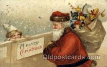 hol000391 - Santa Claus Postcards Post Card
