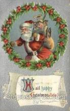 hol000402 - Santa Claus Postcards Post Card