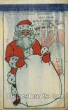hol000411 - Santa Claus Postcards Post Card