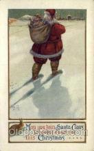 hol000414 - Santa Claus Postcards Post Card