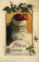 hol000419 - Artist Schmucker?  Artist Schmucker, Santa Claus Postcards Post Card