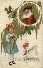 hol000423 - Santa Claus Postcards Post Card